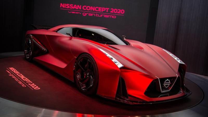 概念車超進化,R36 世代「全新 Nissan GTR」新風貌登場!2020年戰神問世