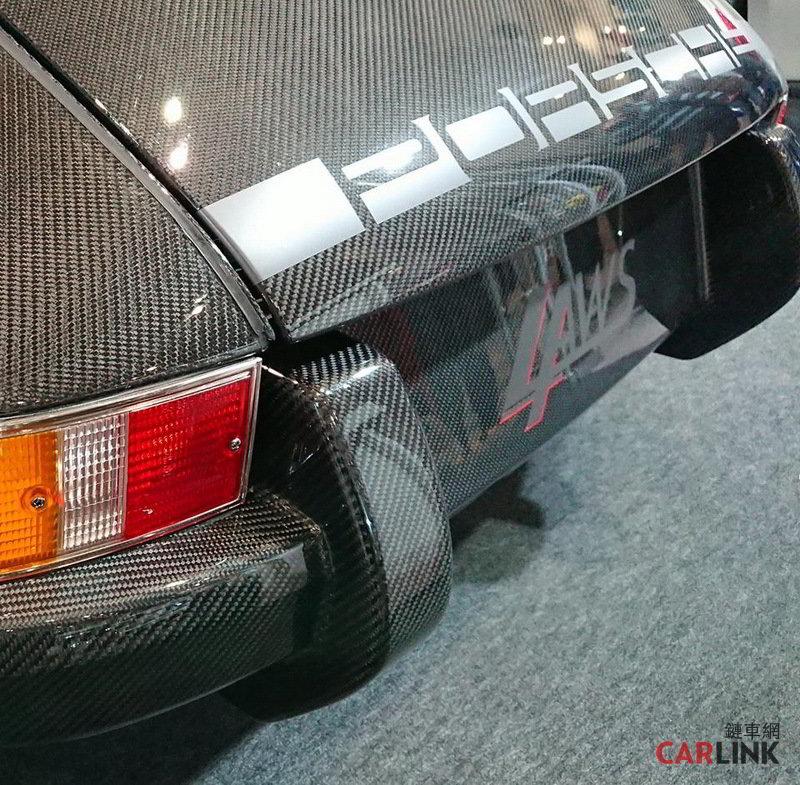 Volvo 240 M5 Engine: 「輕量級」變「蠅量級」!Porsche 911 Type 930首見「Full Carbon Style」全碳纖式樣